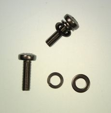 Mk2 Escort Bonnet Safety Catch Screws & Washers All Stainless Steel x 2
