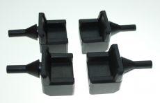 4 x Bonnet Rubbers (Side)