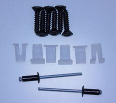 Mk2 Escort C Pillar Grille Clip, Screw & Rivet Set
