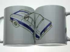 11oz Coffee Cup with Mk1 Escort RS2000 Design