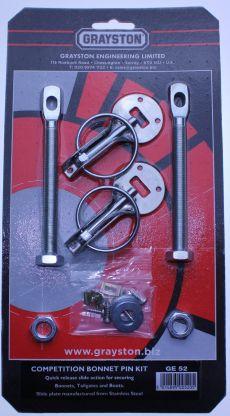 MK1 Escort Competition Bonnet Pin Kit Rallye