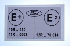 Mk1 Escort E Label RS2000 & Mexico Decal