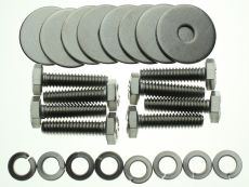 Front Seat Bolt Set All Stainless Steel