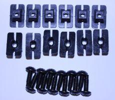 Mk2 Escort Grille Clip Set