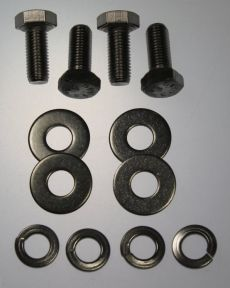 Mk1 Cortina Bonnet /Boot Lid Bolts & Washers x 4 (All Stainless)