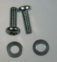 Mk2 Cortina Boot Light Lens Screws x 2