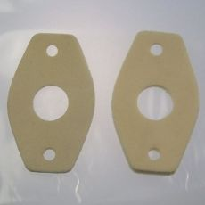 Number Plate Light Seals x 2