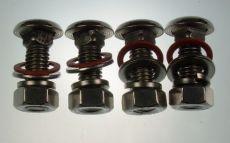 Mk1 Cortina Quarter Bumper Bolt Set (Polished Stainless Steel)