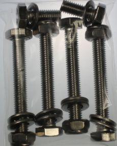 Mk2 Escort Anti Roll Bar Bracket Bolt Set All Stainless Steel