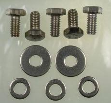 Mk2 Escort Boot Lock Bolt Set (All Stainless Steel)