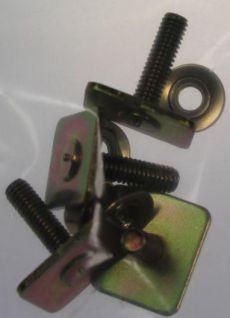 Mk2 Escort Side Chrome Trim Fasteners x4