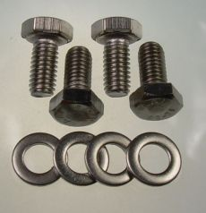 Mk2 Escort Front Indicator Body Bolts & Washers x 4 (Stainless)