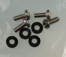 Mk2 Escort Front Indicator Screws (Stainless) & Rubber Washers x 4