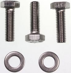 Mk2 Escort Front Tow Hook Bolts & Washers in Stainless Steel