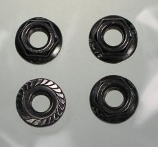 Mk2 Escort Heater Nozzle Fixing Nuts x 4 Stainless Steel