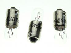 Boot Light & Licence Plate Bulbs x 3