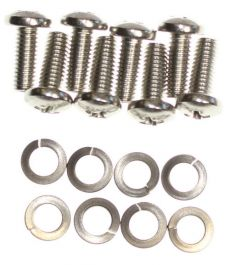 Mk1 Cortina Airflow Rear Window Hinge Screws All Stainless Steel