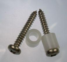 Mk2 Escort Fuse Box Spacers & Stainless Screws x 2