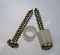 Mk2 Escort Fuse Box Spacers & Stainless Screws x 2