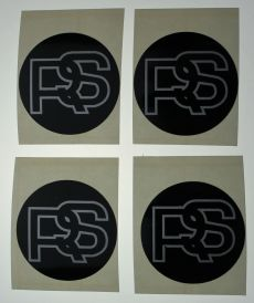 MK2 Escort RS Hub Cap Decal x 1