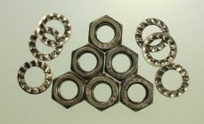 Mk2 Escort Brake Flexi Hose Nuts and Washers All Stainless Steel x 6