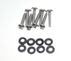 Mk3 Cortina Rear Light Lens Stainless Steel Screws & Rubber Washers