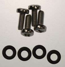 Mk4 Cortina Front Indicator Lens Stainless Steel Screws & Rubber Washers