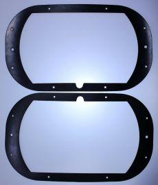 Mk1 Escort Square Headlight Bowl Gaskets / Seals x 2