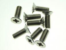 Door Striker Plate Screws x 8