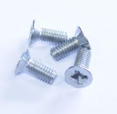 Mk1 Escort Striker Plate Rubber Screws Stainless Steel x 4 Stainless Steel