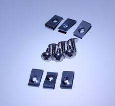 Mk1 Escort Upper Grille Clips & Screws x 6
